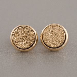 Druzy Earrings - you can purchase cheaper ones in Etsy