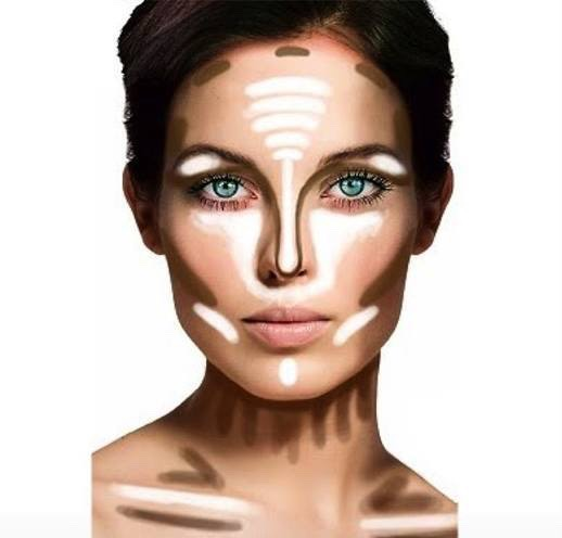 Bronzer An essential in any makeup kit, bronzer can be used on almost every part of the face and body. Apply it to the sides of your nose to make it look thinner, onto the decolletage, just under the cheekbones, or lightly all-over your face for a subtle pop of colour. Just remember to blend!