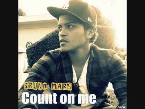 I love 'Count on Me' by Bruno Mars, because it's the perfect friendship song! Basically you can count on my through everything!
