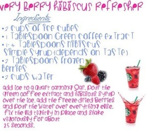 Starbucks Very Berry Hibiscus Refresher Recipe By Ashie Joy Musely
