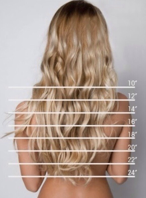 How to grow 24 inches of hair