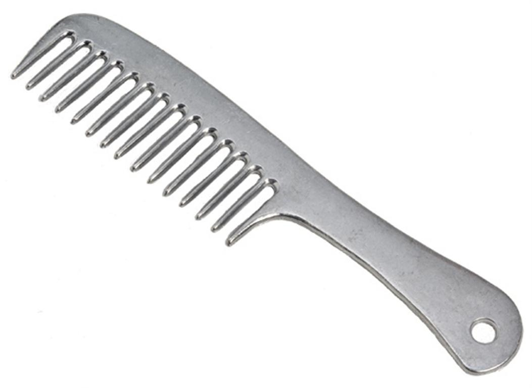 Brush your hair with a comb when it's wet because it breaks easily, start at the ends and work your way up