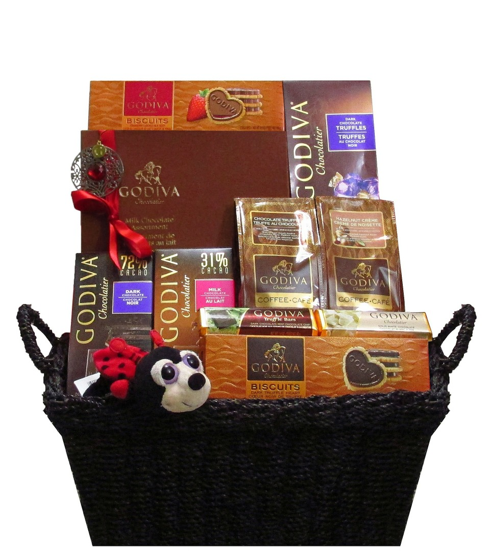 Musely get your godiva lover gift basket at ccgifts the amour godiva is negle Image collections