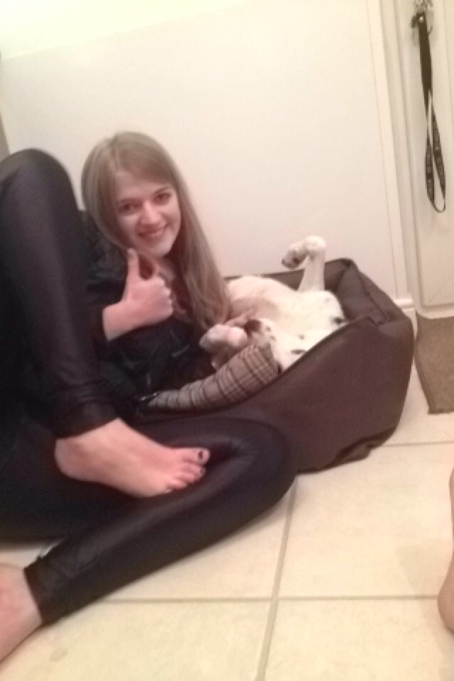 2. Get yer feet out and give them a thumbs up to love