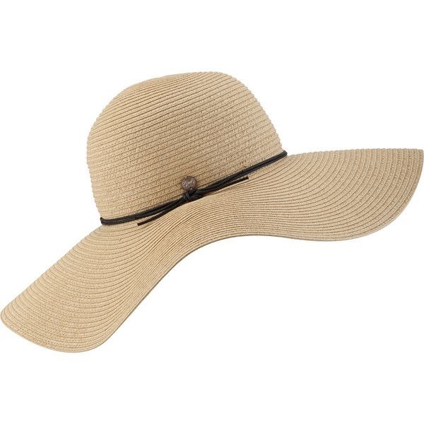 Sun hats are perfect for the beach.  They keep the sun off you while also being chic.