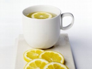 I start of my day by drinking a cup of hot water with lemon before drinking or eating anything else! No sugar or honey added!