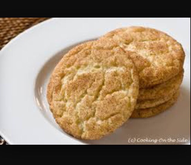 Powder.  3.Pour the dry ingredients into the wet ingredients and mix well. 4.Preheat oven to 300 degrees while you let the dough rest for 30 to 60 minutes in the refrigerator. 5.In a small bowl, combine the sugar with the cinnamon for the topping 6.Take about 2 1/2 tablespoons of the dough and roll