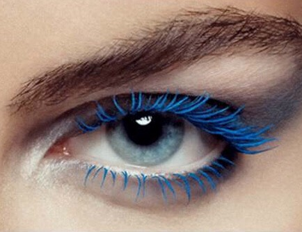 6. Blue mascara is the secret to hiding a late night.Don't dismiss the power of navy as a great daytime alternative to black. You get all the definition of black but softer—great for the morning after, as blue really brightens the whites of your eyes, belying lack of sleep.