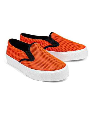 Airtech Sneakers Unexpected scuba details make these slip-ons extra special!  ASOS sneakers