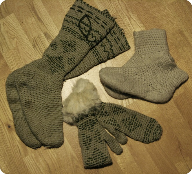 Resist the temptation of putting on too many pairs of socks. You'll restrict circulation and actually cause your feet to get colder.