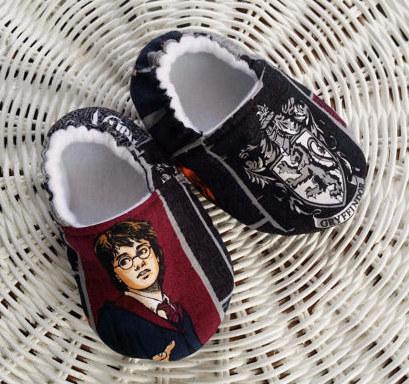 7. These baby shoes with Harry's face on them are pretty awesome, too.  $18