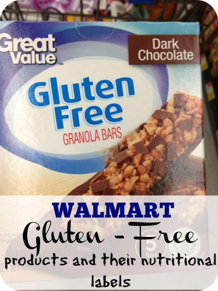 these bars are awesome they have a whole section of gluten free items at Walmart