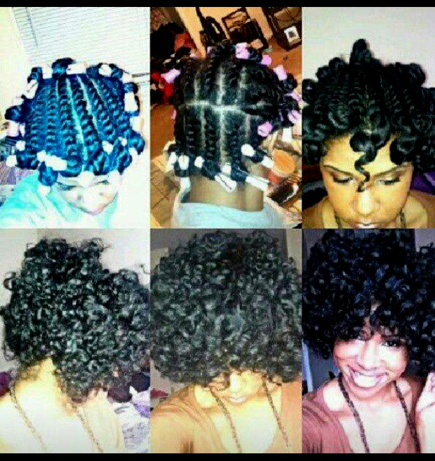 Great style idea for natural ladies:-)