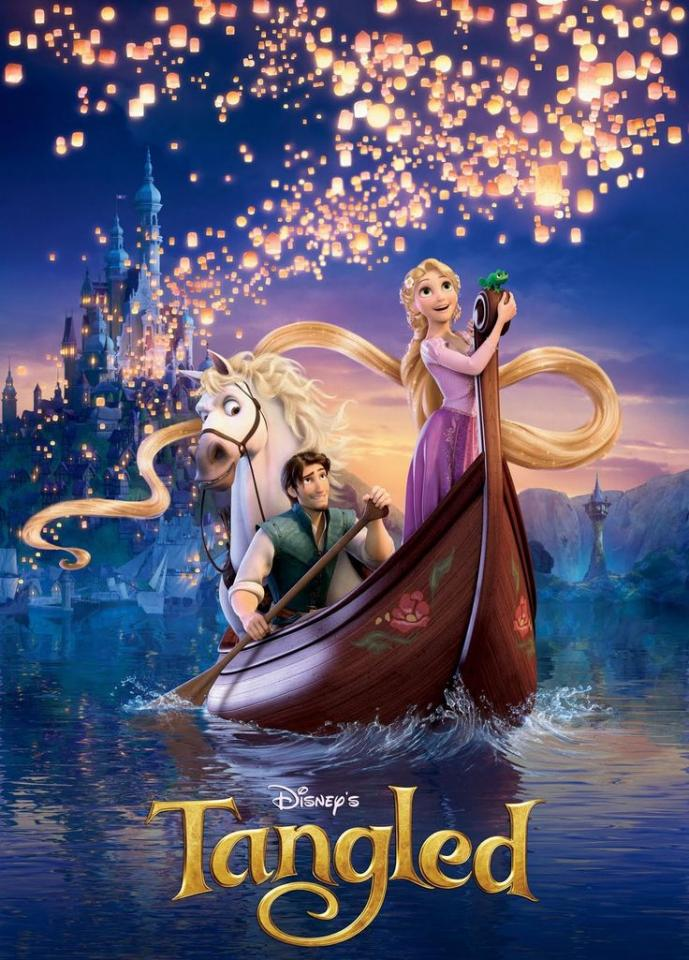tangled is a must see