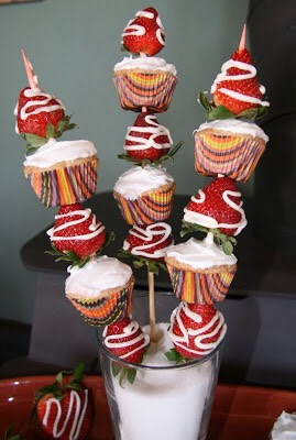 Strawberries & cupcakes
