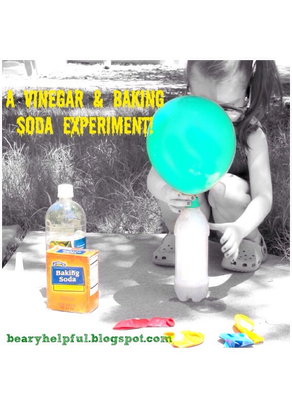 Instead of paying more money on Helium balloons, use this common science experiment to get the same results!