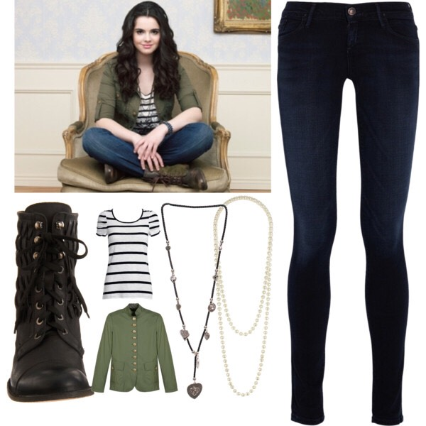 I like this outfit! Good for fall or winter. Very cute.