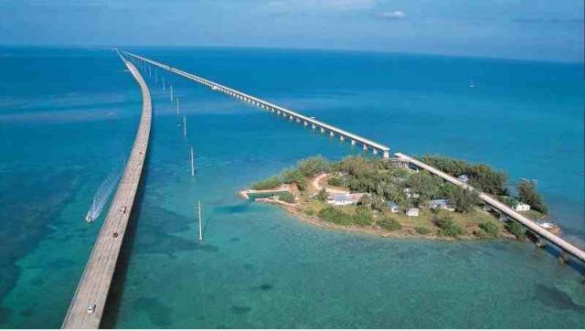 4. Venture to the Over Ocean Highway