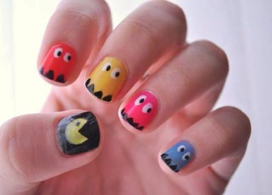 This is only one of my many idea of the day for nail artists