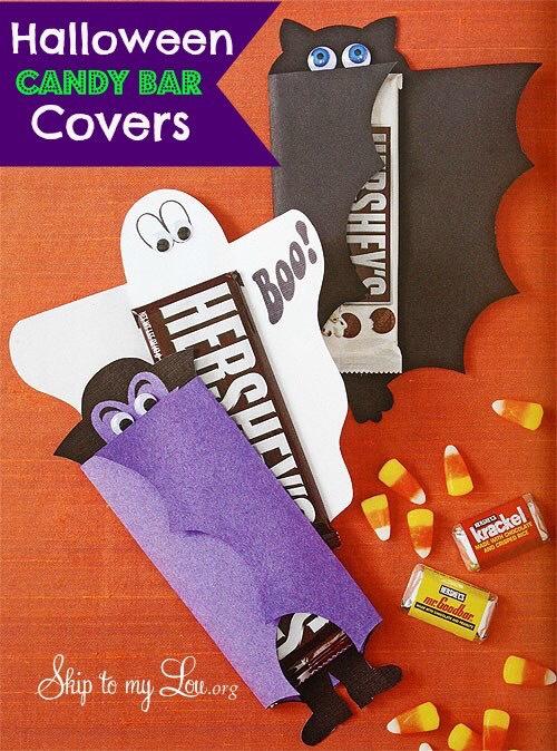 http://www.skiptomylou.org/2009/10/14/candy-bar-covers/