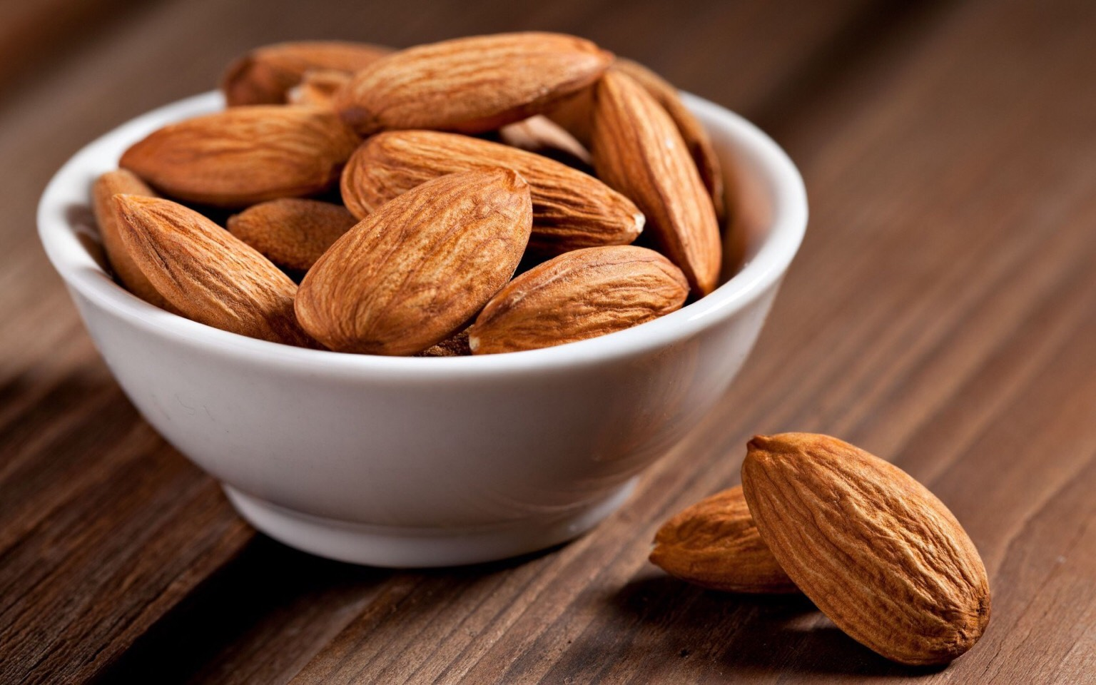 Almonds are rich in magnesium, a mineral needed for quality sleep.