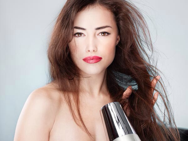 6. Try to avoid blow drying your hair at all costs  Blow drying your hair can cause breakage and lead to split ends, let your hair airdry