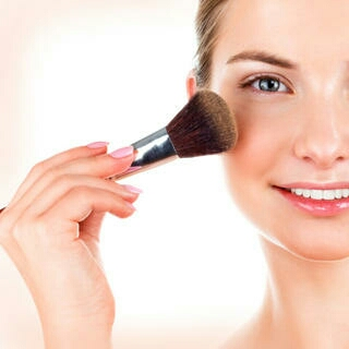 FIND YOUR PERFECT BLUSH:  You want something that gives enough coverage without totally covering you up. Look for oil-free products if you have especially oily skin, and opt for moisturizing foundations or tinted creams if you're on the drier side.