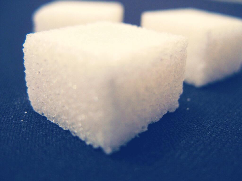 take a tablespoon of sugar