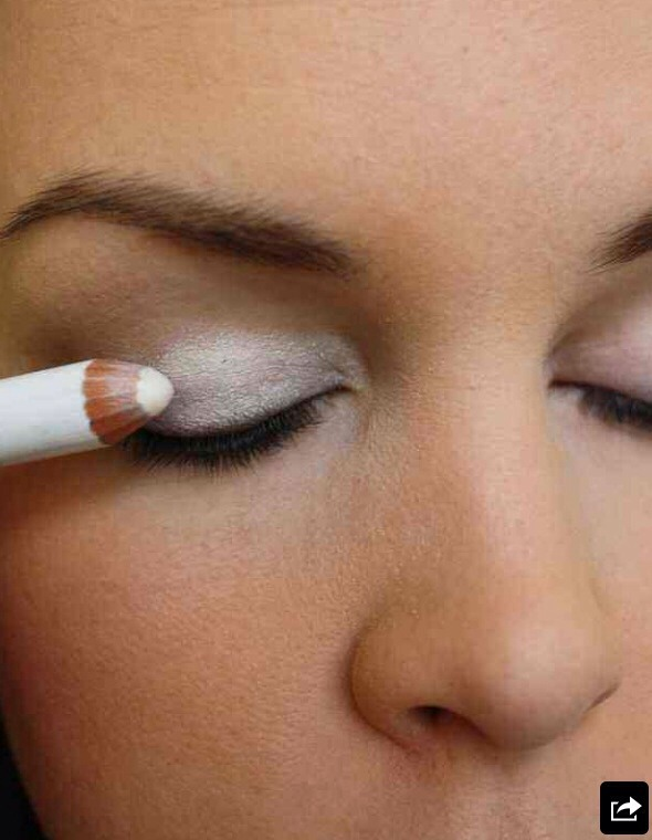 Put White Eyeliner on Your Entire Eyelid before Putting on your eyeshadow to really make the color Pop!