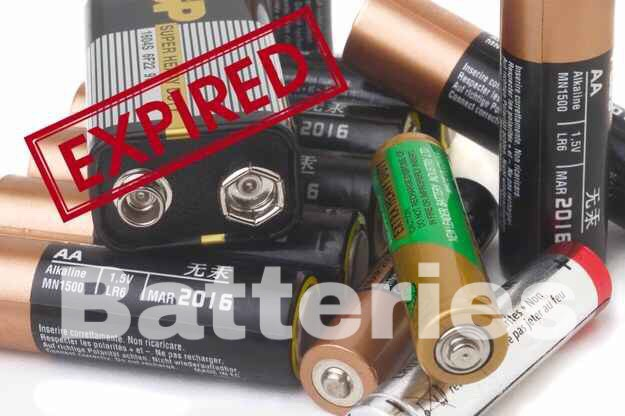 Solution: Store batteries in a dry, room-temperature location, and check the date.