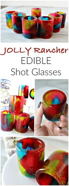 You can use any candy you want but these are a super fun and cool idea