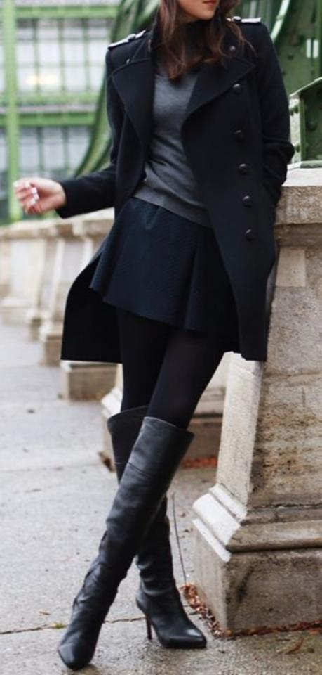 7. All Black, In A Very Fashionable Way
