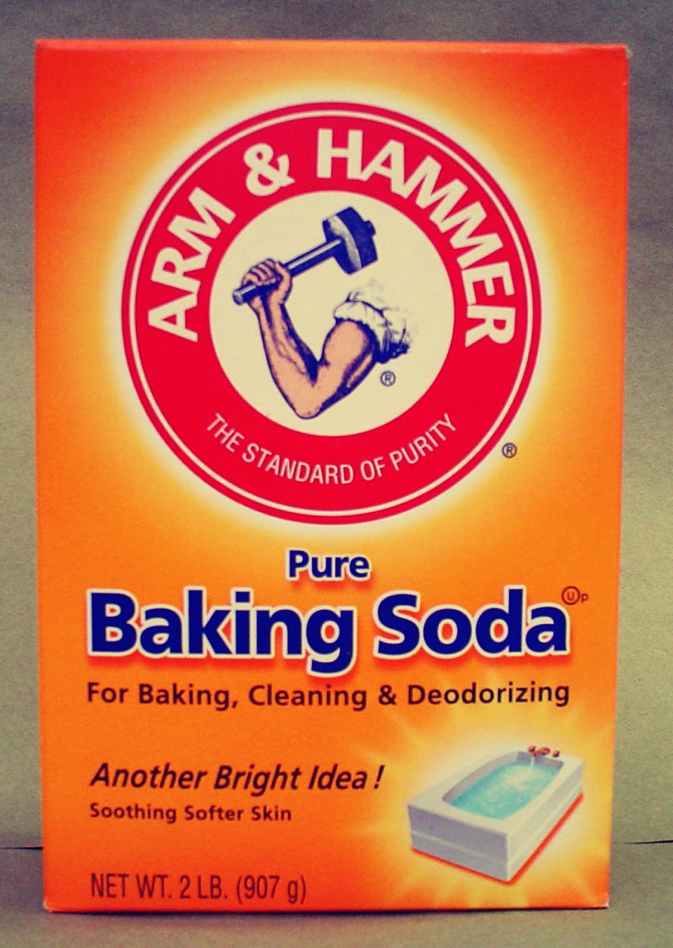 Make a paste out of baking soda and water. Apply to clean skin. Rinse after 5 minutes.