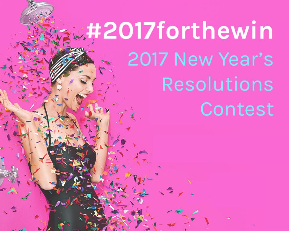 Attention Muses: 2017 is your year to make a change. Whether it's an old slouching habit, or a new step to advance your career, we want to hear how you're achieving your New Year's resolutions!