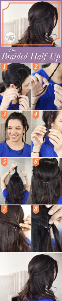 7. The Braided Half-Up