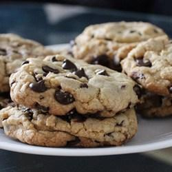 These cookies are the pinnacle of perfection! If you want a big, fat, chewy cookie like the kind you see at bakeries and specialty shops, then these are the cookies for you!