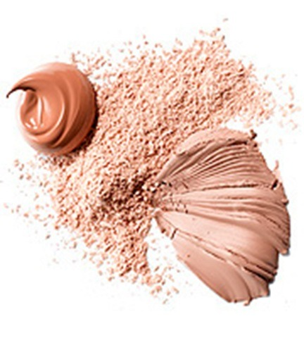 First apply moisture and then apply foundation and use a buffer brush to buff that into the skin