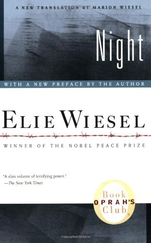 Night by Elie Wiesel: An award-winning memoir of the author's experience in the holocaust. Tip by Jackie A.