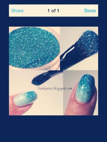 Glitter nails 💅🌌