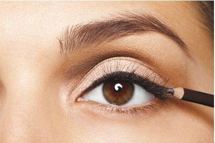 5. Waterproof Always go with waterproof mascara and eyeliner in the summer to prevent your makeup from running and leaving you looking like a hot mess (literally)!