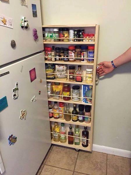 Awesone E Saving Kitchen Storage Ideas