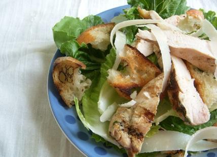 18. Grilled Chicken Caesar Salad