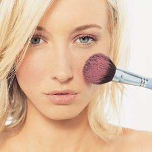 blush is pretty simple but here's a few tips! •try using a thick brush...it spreads it evenly across where u place it! •when applying brush apply it two finger-width away from ur nose! this is the last tip! hope u enojoyed❤️