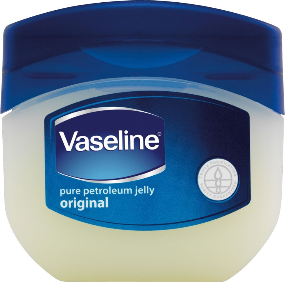 Rub Vaseline all over your hands and feet to create a thin layer