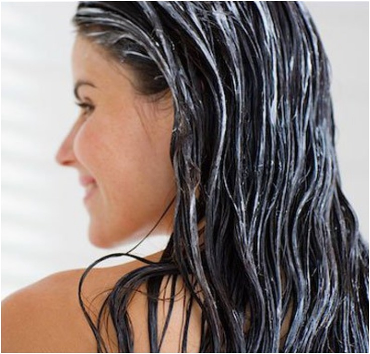 Leave the Conditioner in your Hair for 30 Mins.