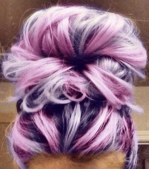 Pretty different shades of purple