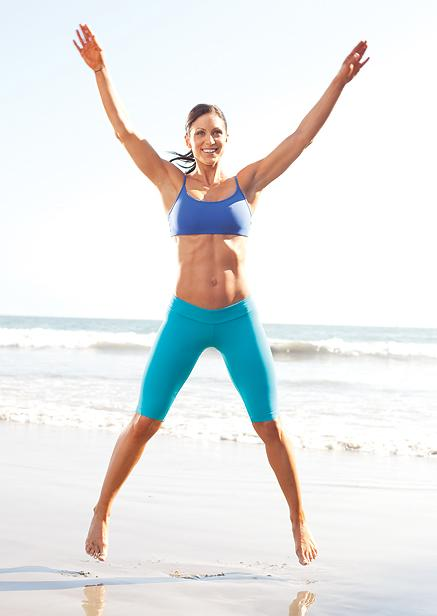 Cardio is a must if you are serious about losing weight and getting trim, but we don't always have time for an hour on a treadmill, so here is an easy, no equipment cardio routine to start with when working out at home