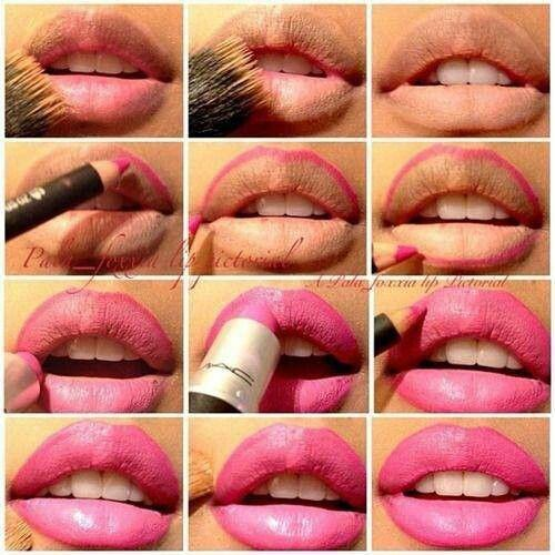 Lipstick is probably my favorite thing out of all makeup. Sometimes it can be tricky to get that perfect straight line but here are a few tips for easy lipstick application.