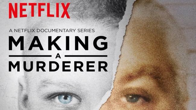 """""""MAKING A MURDERER"""" Steven Avery isreleased from prison afterspendingnearly 20 years insidefor a crime he didn't commit only to be railroaded again. Fromhopelesstohappytoconfused&angry, you'll feel it all asthis seriesexposesthe failings of the Wisconsin justice system."""