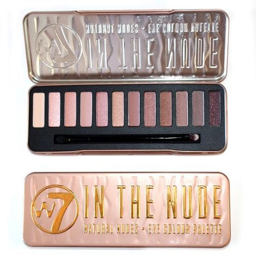 w7 eyeshadow palettes are great and are great dupes for the Urban Decay Naked palettes   The In the Nude palette is the same as Naked 3